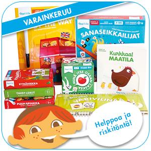 Turvallista ja tuottavaa varainhankintaa Oppi&ilo-tuotteilla.