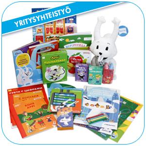 Tilaa räätälöidyt tuotteet lapsi- ja perhekohderyhmällenne.