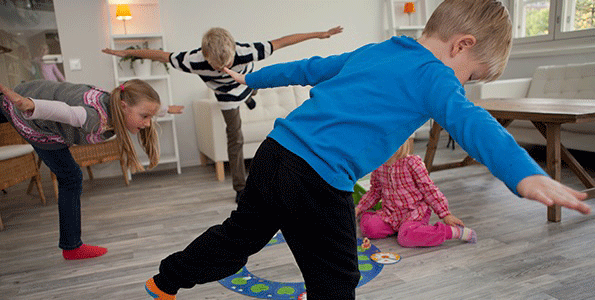 kannusta lapsi liikkeelle