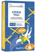 Lycka till! -ruotsin bingo 6-12 v